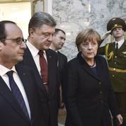 Rencontre tripartite, sans Poutine, pour soutenir la paix en Ukraine