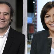 Anne Hidalgo et Xavier Niel, personnalités françaises les plus influentes sur Twitter