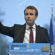 La sortie de Macron sur les 35 heures met le feu à la majorité