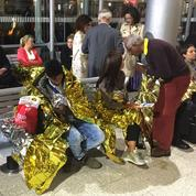 Migrants sur les voies de l'Eurostar: 700 passagers bloqués une nuit près de Calais