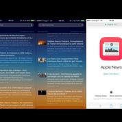 Comment fonctionnera le mini «Google News» d'Apple