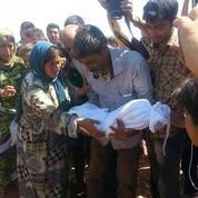 Le petit Aylan enterré avec sa famille à Kobané