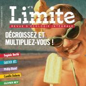 Revue Limite :vivre et penser contre son temps