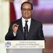Sans les nommer, François Hollande tacle ses cibles favorites