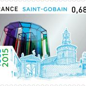 Saint-Gobain fête ses 350 ans avec un timbre