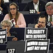 Les écolos veulent transformer le Parlement européen en centre de réfugiés