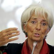 La France est «sur la bonne voie», selon Christine Lagarde