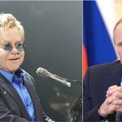 Elton John veut parler des homosexuels avec Vladimir Poutine