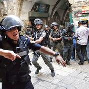 Jérusalem: scènes d'intifada sur l'esplanade des mosquées