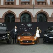 Les voitures du prochain James Bond