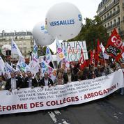 La mobilisation contre la réforme du collège s'essouffle