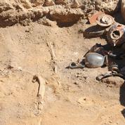 Une tombe pré-romaine découverte à Pompéi