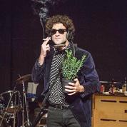 Bob Dylan sur un plateau