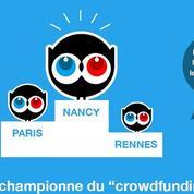Nancy, championne de France du financement participatif