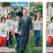 COP21 : Hollande s'offre une opération de com' devant l'objectif de Depardon