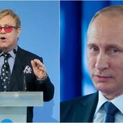 Cette fois, Vladimir Poutine a vraiment appelé Elton John