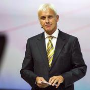 En pleine tempête, Matthias Müller prend la tête de Volkswagen