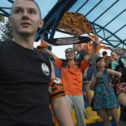 Donetsk, le foot sans domicile fixe