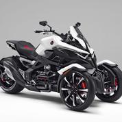 Honda: un trois-roues hybride au salon de Tokyo