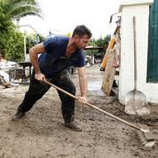 Côte d'Azur : après les intempéries, l'heure est au bilan et au nettoyage