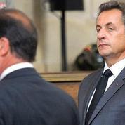 Incidents à Air France : passe d'armes entre Hollande et Sarkozy autour de la «chienlit»