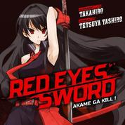 Red Eyes Sword ,un manga en rouge et noir