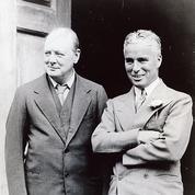 Deux messieurs sur la plage ,de Michael Köhlmeier: Churchill et Chaplin, clowns mélancoliques