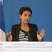 Réforme du collège : Najat Vallaud-Belkacem, ministre de la Communication nationale