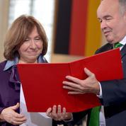 Nobel de littérature à Svetlana Alexievitch: «C'est fantastique»