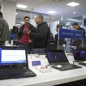 Le marché des PC en berne, sauf pour Apple