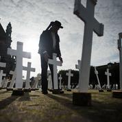 En Bretagne, 600 croix érigées en hommage aux agriculteurs suicidés