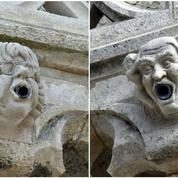 Cabu et Wolinski, modèles de gargouilles à La Rochelle