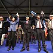 Nicolas Sarkozy et Alain Juppé jouent l'unité à Limoges
