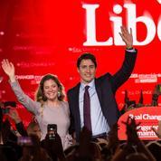 L'outsider libéral Justin Trudeau, nouveau premier ministre du Canada