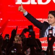 Justin Trudeau, futur premier ministre canadien 30ans après son père