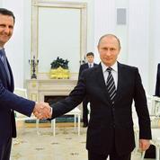 Bachar el-Assad à Moscou pour remercier son allié russe