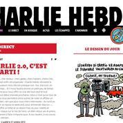 Le site de Charlie Hebdo fait son retour