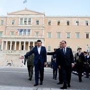 François Hollande prône une renégociation de la dette grecque