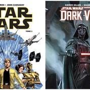 Star Wars :deux nouvelles bandes dessinées sur Luke Skywalker et Dark Vador