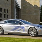 Aston Martin dévoile une Rapide électrique