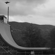 Un skateur bat le record du monde de saut sur rampe