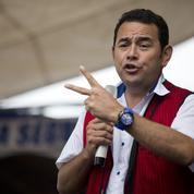 Jimmy Morales, un comique élu président du Guatemala