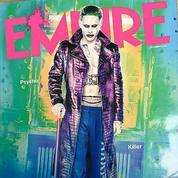 Jared Leto en Joker au look troublant pour Suicide Squad