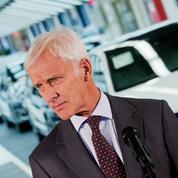 Volkswagen s'organise pour rebondir après le scandale