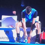Grigor Dimitrov imite les tocs de Rafael Nadal