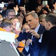 Spectre : Daniel Craig, James Bond heureux à l'avant-première parisienne