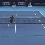 Gasquet remporte l'un des plus beaux points de la saison de tennis