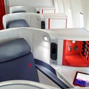 Air France étend ses nouveaux sièges à 5 destinations supplémentaires