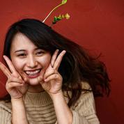 Fleurs en tête: le sourire venu de Chine