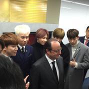 En Corée du Sud, Hollande sous le charme du développement numérique